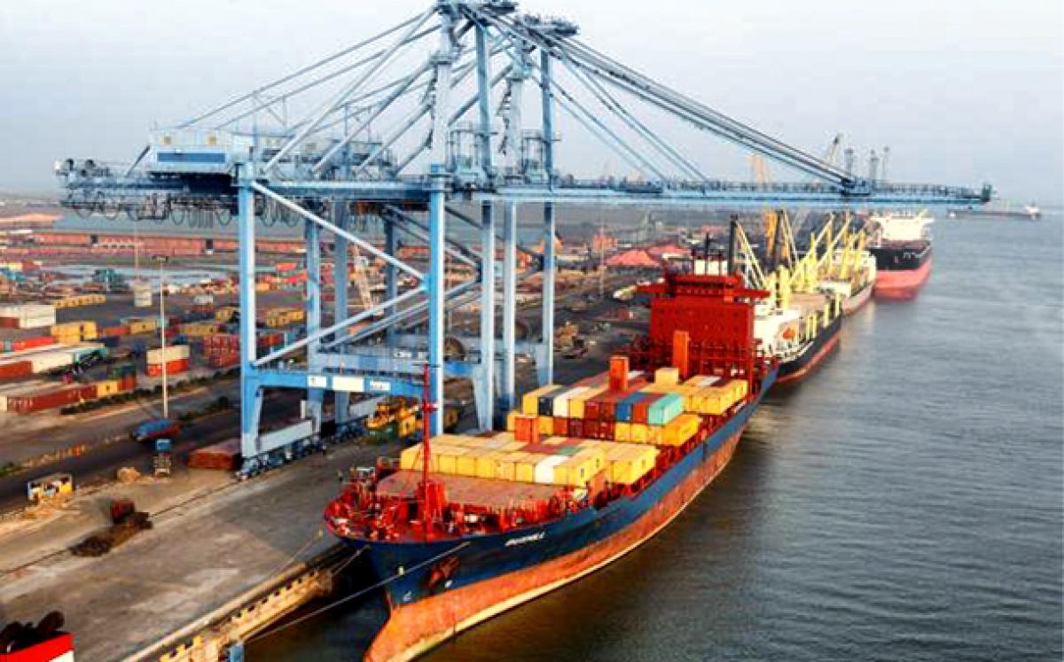 Krishnapatnam Port eyes 42% growth in FY-14