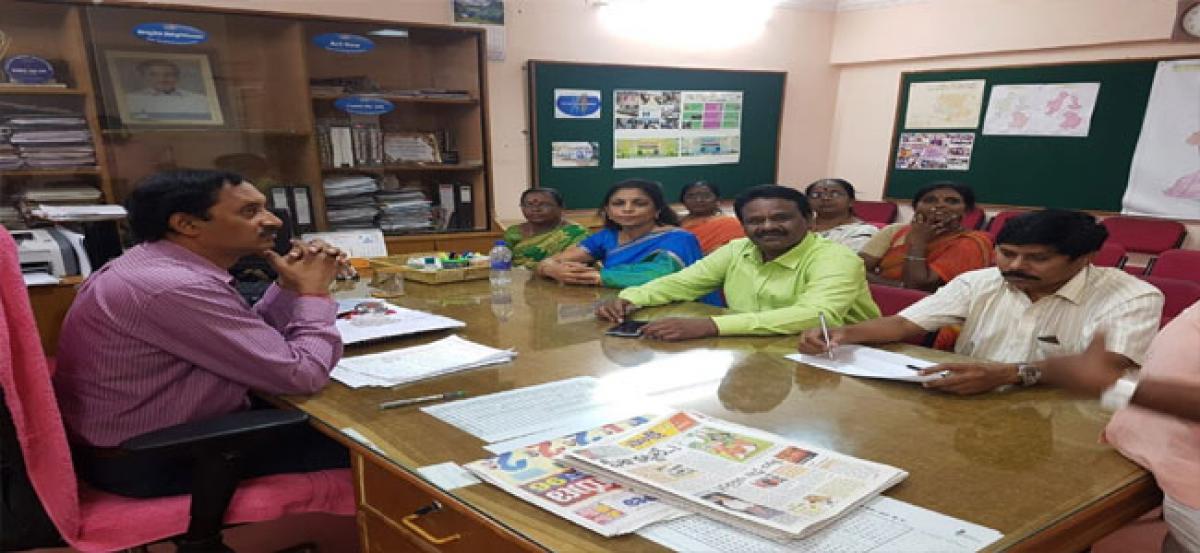 Prajavani programme held at Malkajgiri circle office