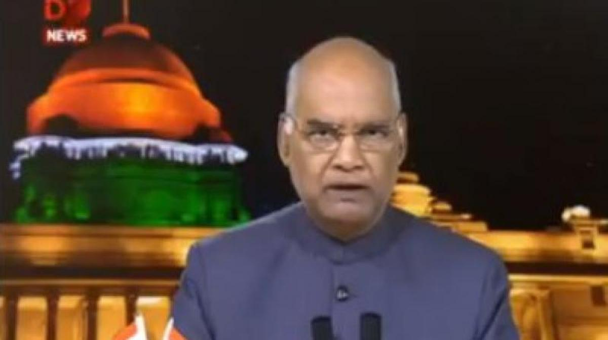 Let contentious, extraneous debates not distract us, says President Kovind