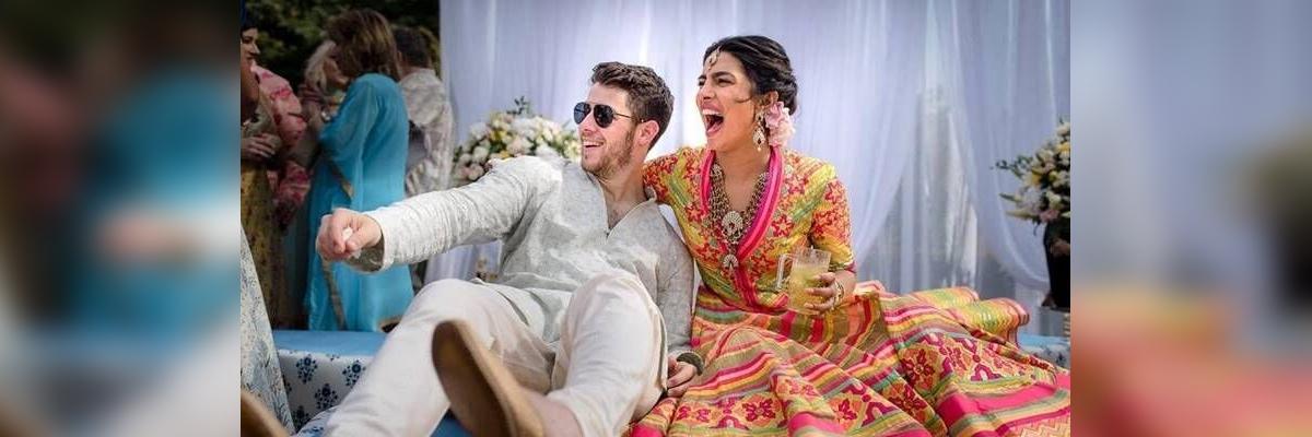 Priyanka, Nick Jonas marry in traditional Hindu ceremony