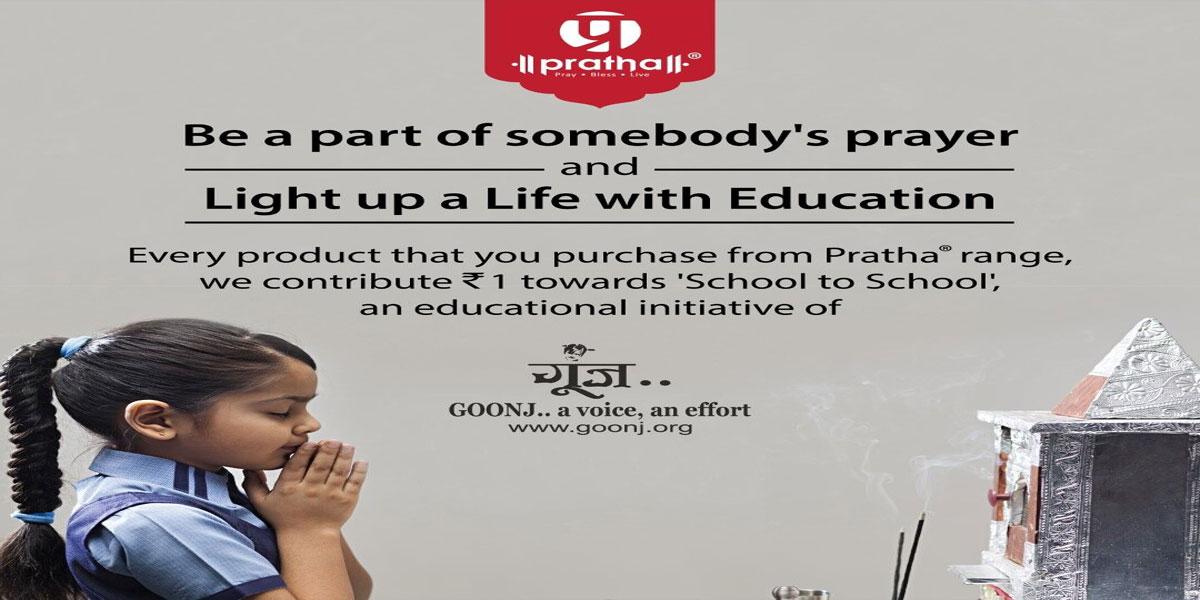 Goonj's School to School initiative gets support