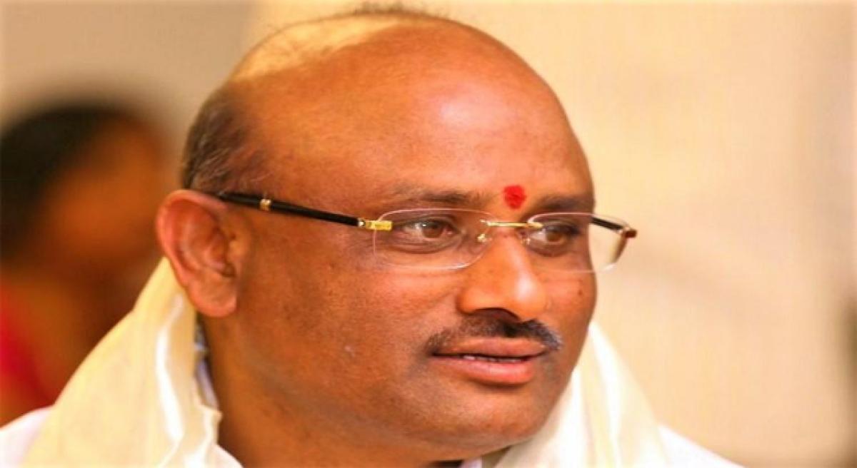 Putta Sudhakar Yadav gives clean chit to TTD marketing department