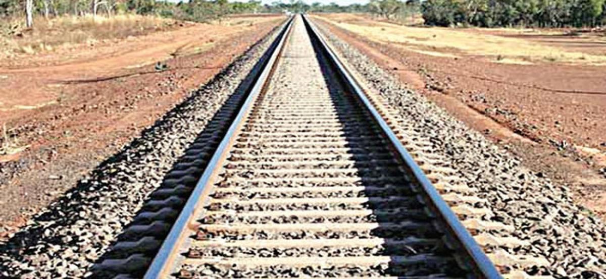 New rail track proposed between Rayanapadu and Mustabada