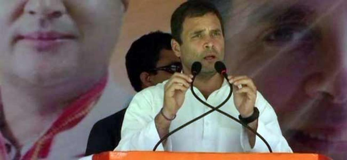 Demonetisation biggest scam in history of independent India: Rahul Gandhi