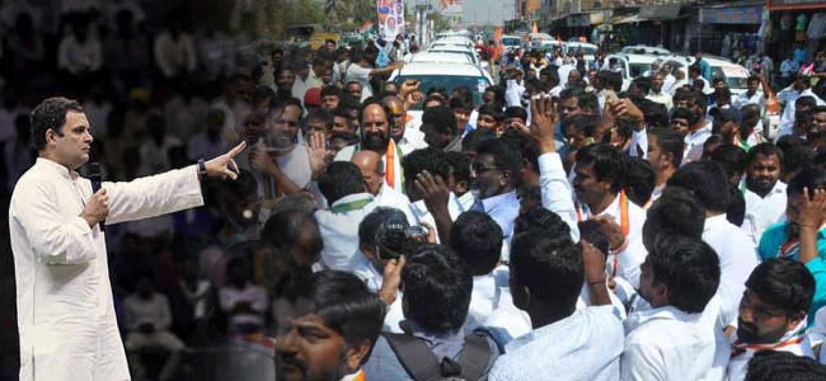 Rahul Gandhi to participate in next phase of Jana Chaitanya bus yatra in Telangana
