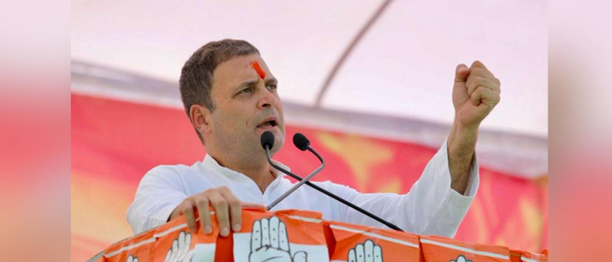 Save daughters from BJP minister: Rahul