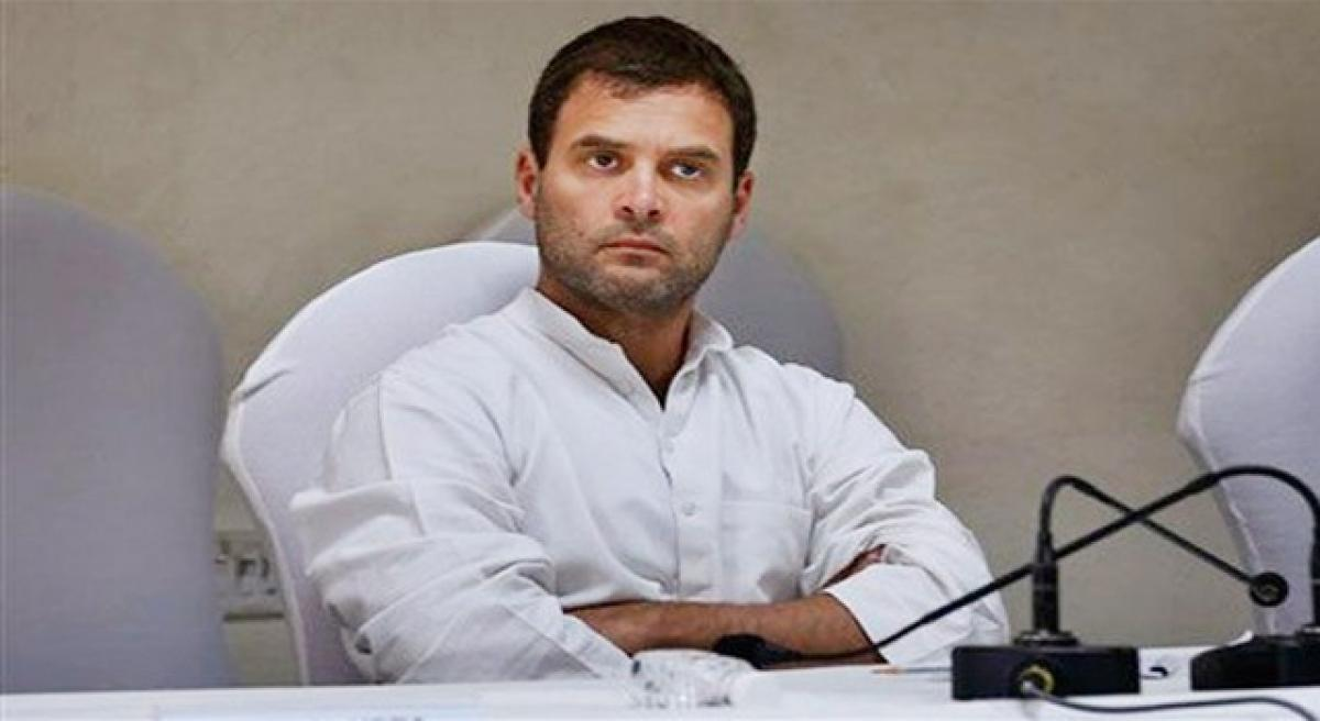 Task cut out for Rahul