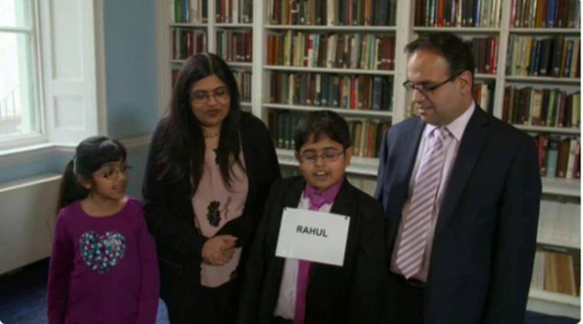 Indian-Origin Boy Wins UK Show With IQ Higher Than Albert Einstein
