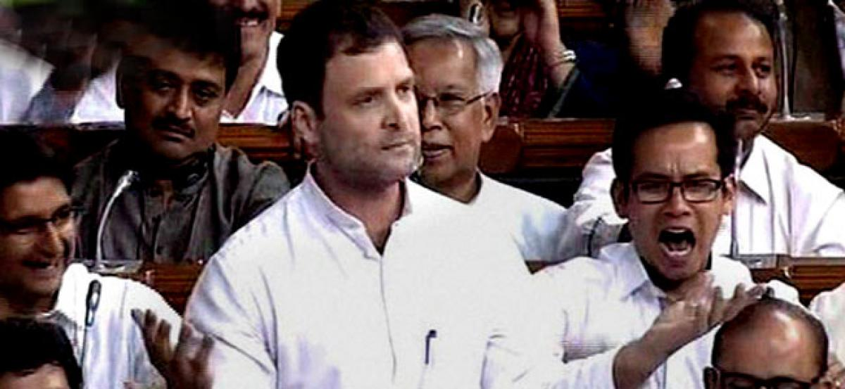 Indias reputation is of a country where women are not safe: Rahul Gandhi