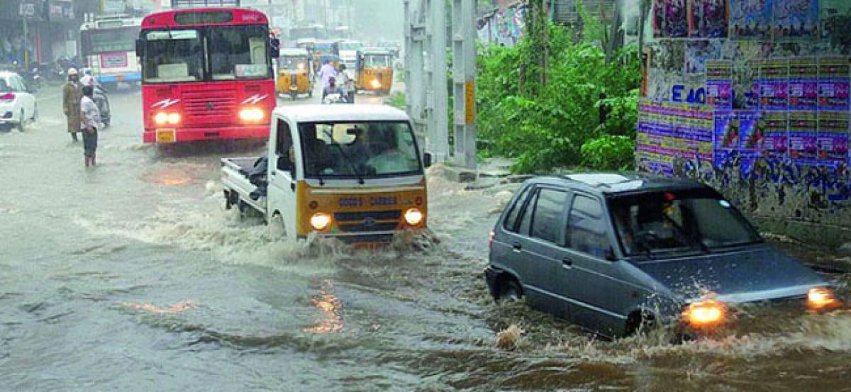 Heavy Rains Lash East Godavari District