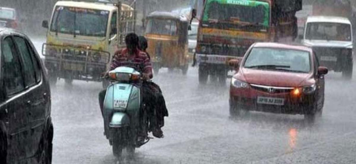 Medak receives 3 cm rain fall