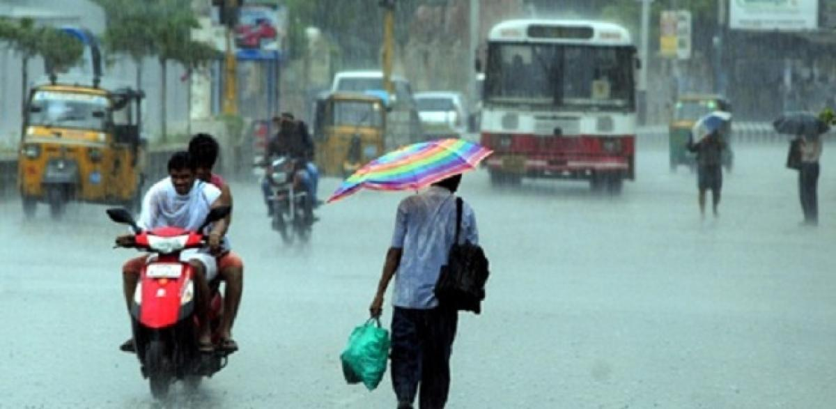 Krishna District Receives Highest Rainfall