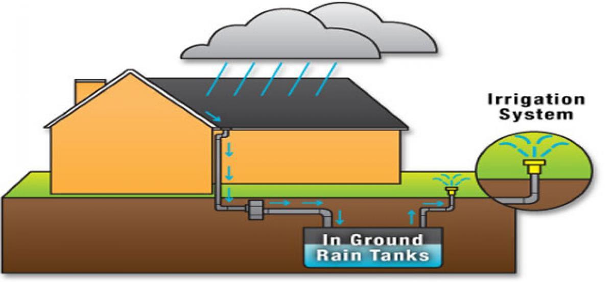 Rainwater harvesting pits must: GVMC