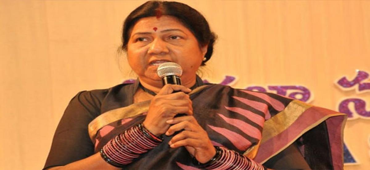 Government taking steps to curb trafficking: Nannapaneni