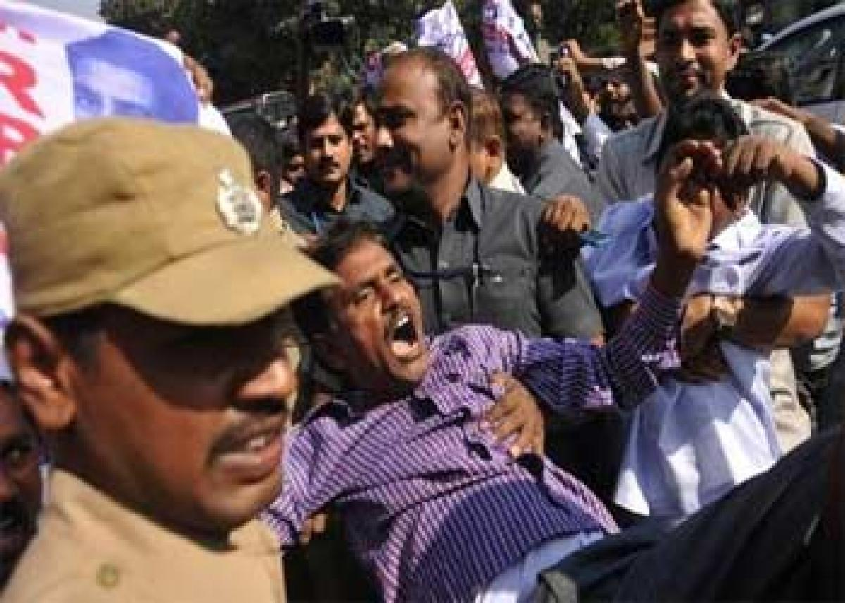 T region witnesses anti- Cong protests