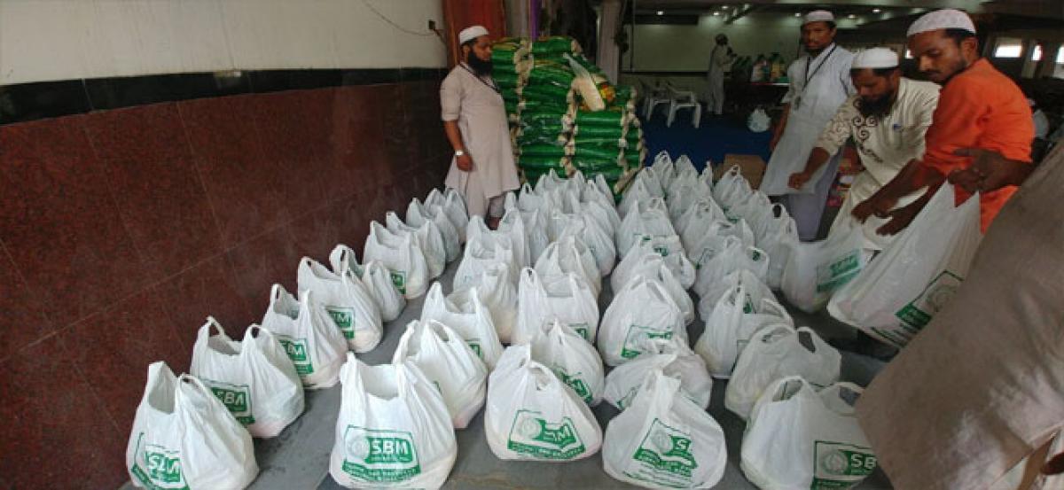 Safa Baitul Maal starts distributing 'Ramzan ration'