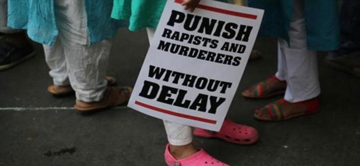 UP rape victim on indefinite hunger strike demanding justice