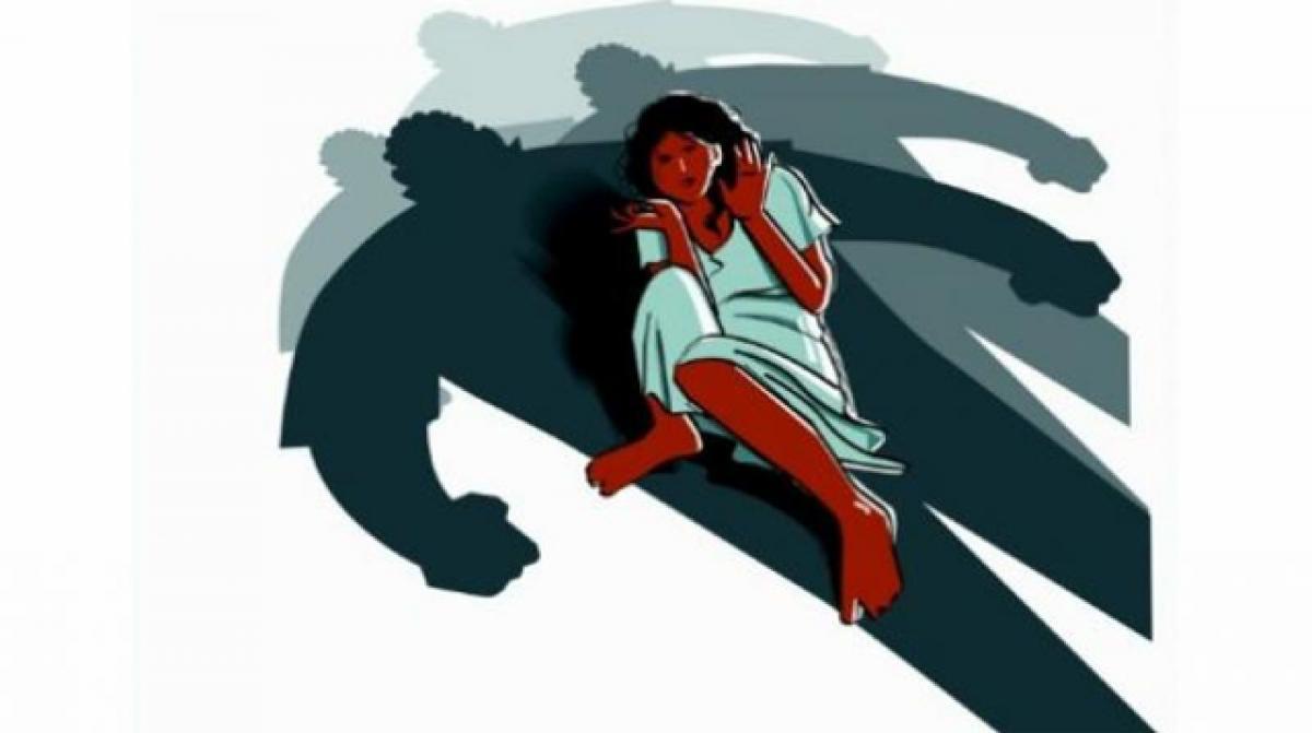Painter held on rape charge