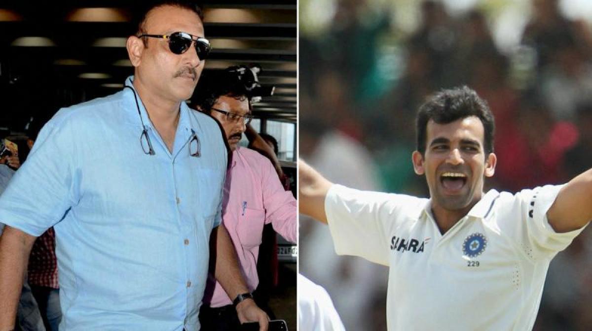 Ravi Shastri appointed new Team India coach, Zaheer Khan bowling coach