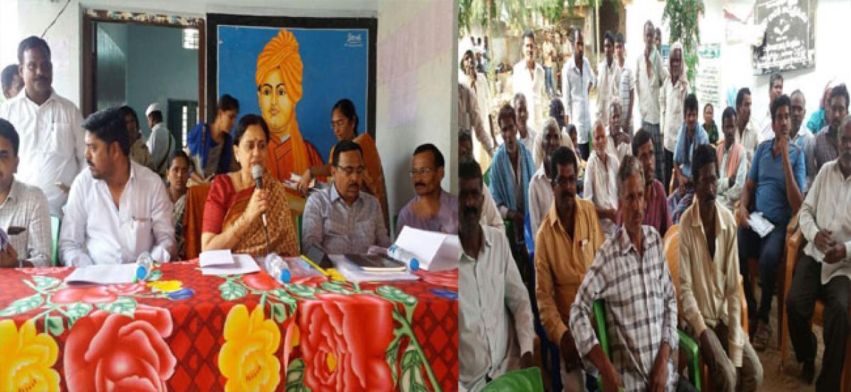 Officials, public representatives should coordinate for success of Rythu Bandhu Scheme