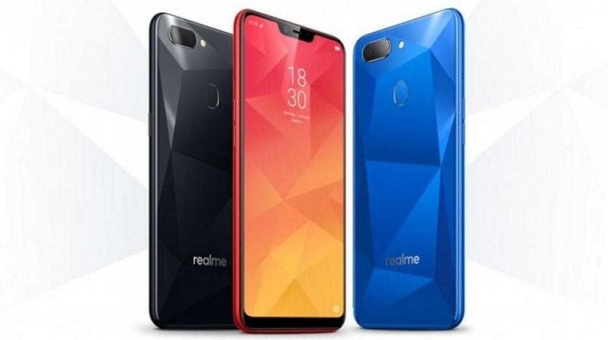 Realme 2 budget smartphone with notched display in India
