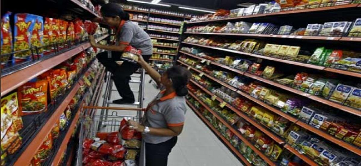 India April retail inflation rate climbs for first time in four months