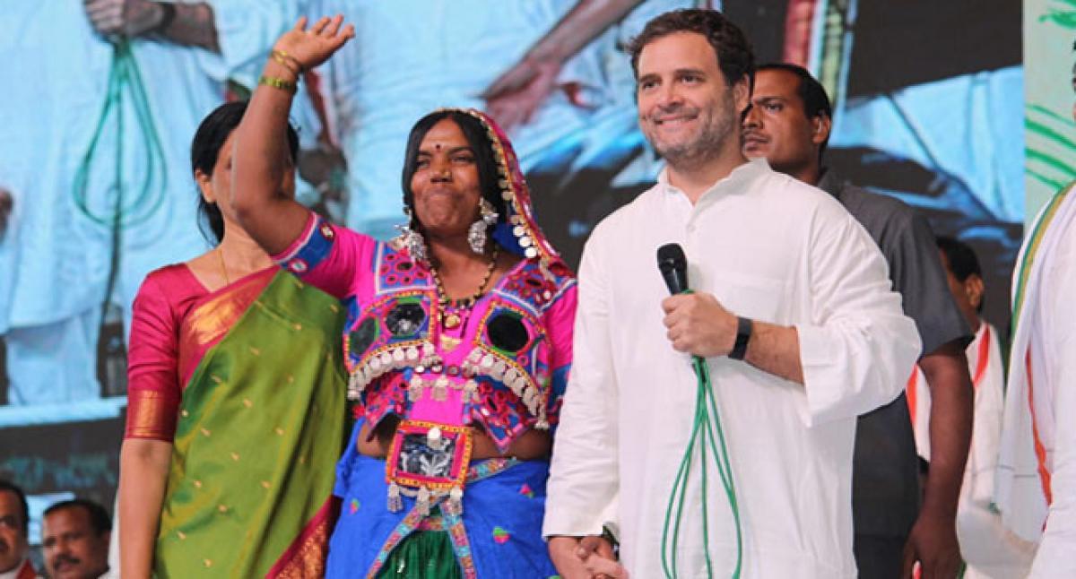 Rahul Gandhi to steer Congress to power in Telangana State