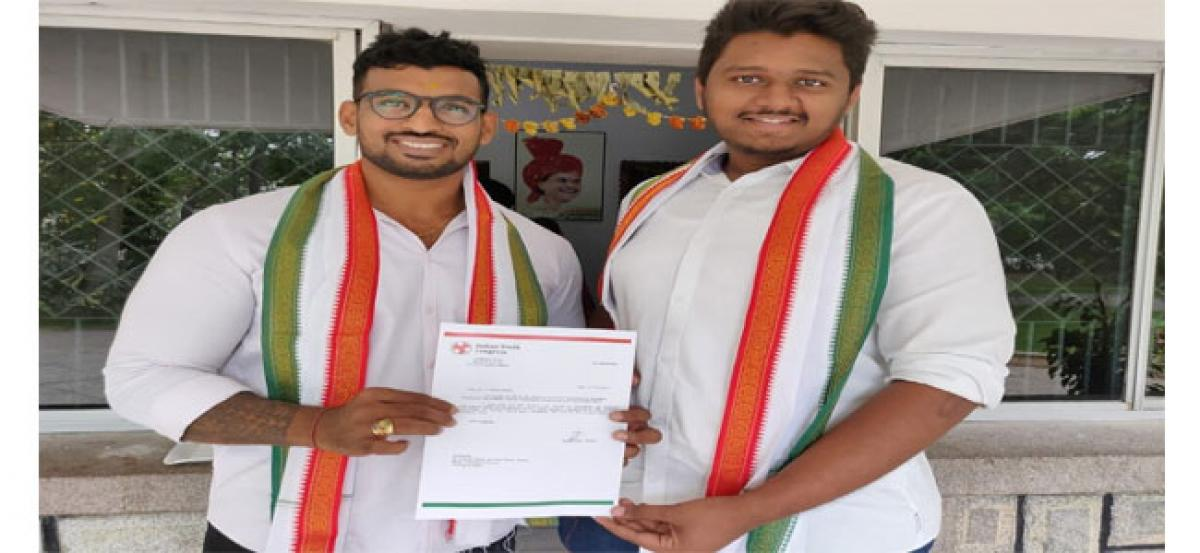 Ritik appointed Youth Congress secretary
