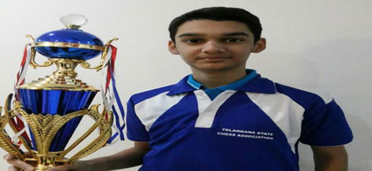 Rithvik is Raja of U-13 national chess