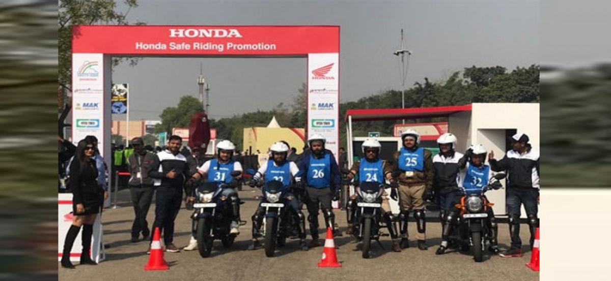 To ensure road safety for all, Honda takes unique initiatives