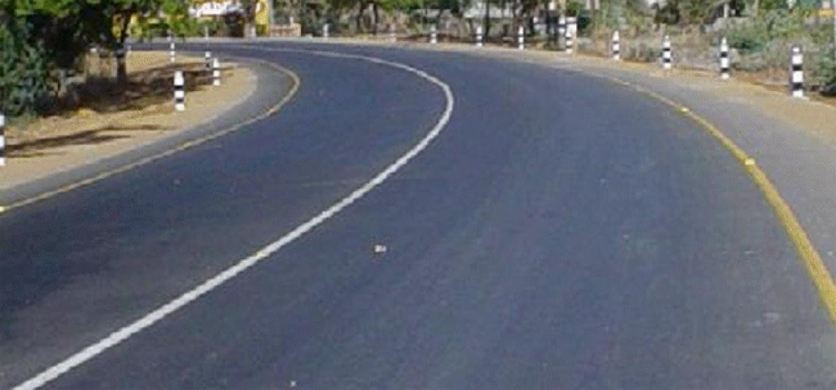 Suryapet Joint Collector inspect roads laying works at Mellacheruvu