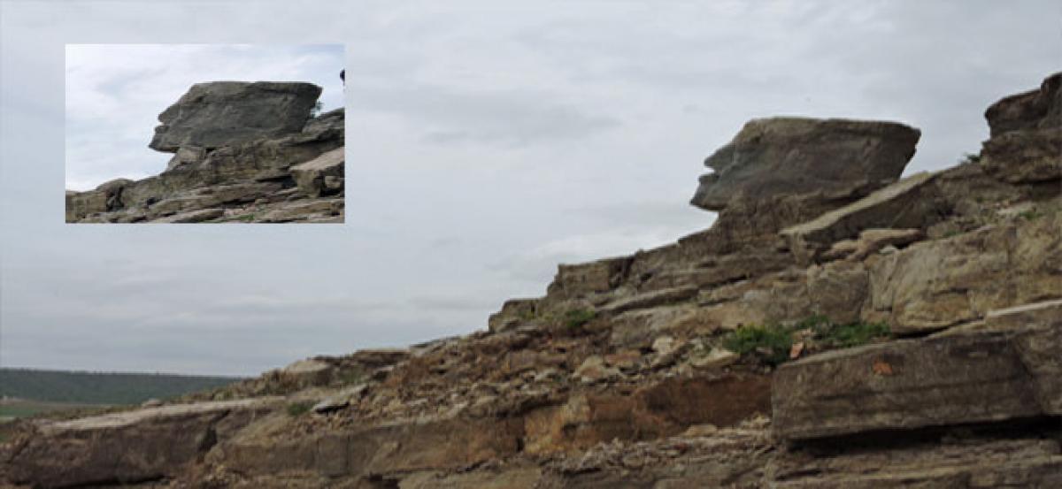 A natural human rock