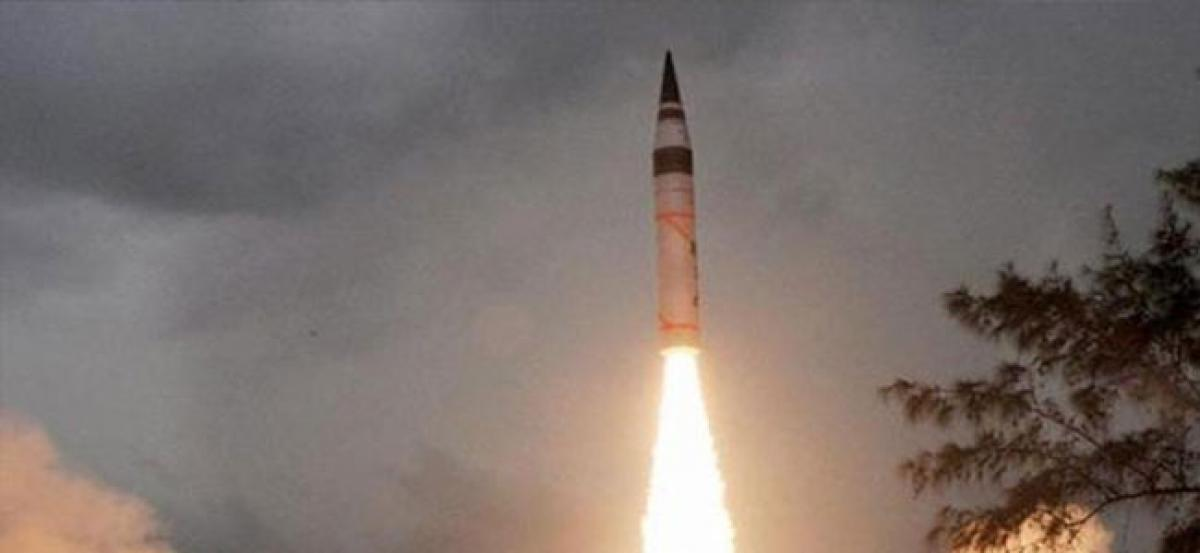 India to induct Agni-V in armoury soon, targets across China in range