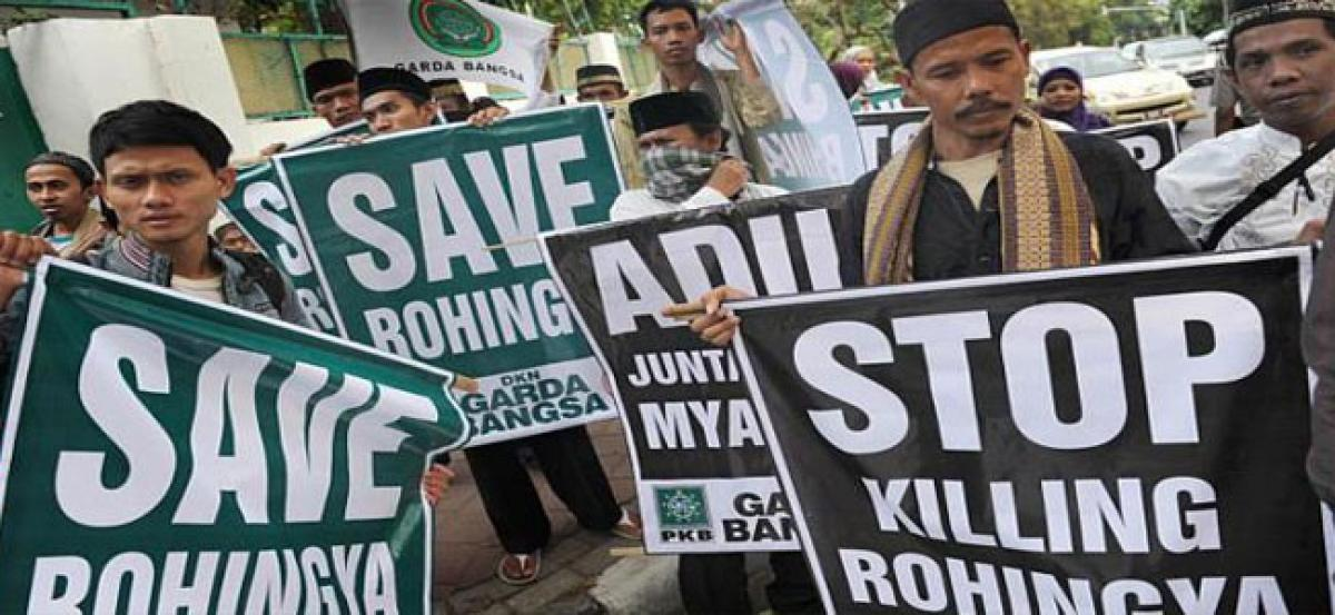 Dealing with Rohingya crisis