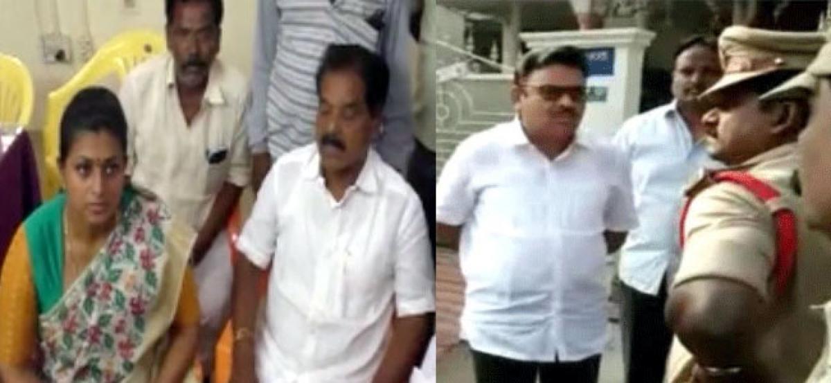 AP Bandh: Roja, Ambati Rambabu and several YSRCP leaders arrested