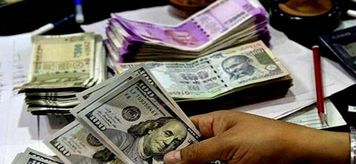 Rupee falls 26 paise against US dollar in early trade