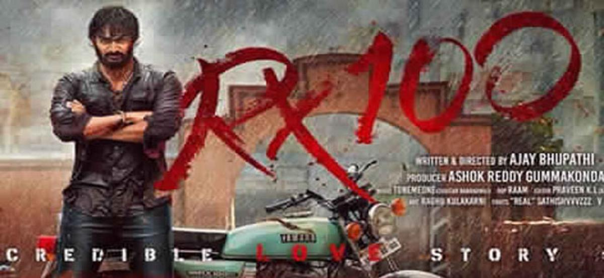 RX 100 First Day Box Office Collections Report