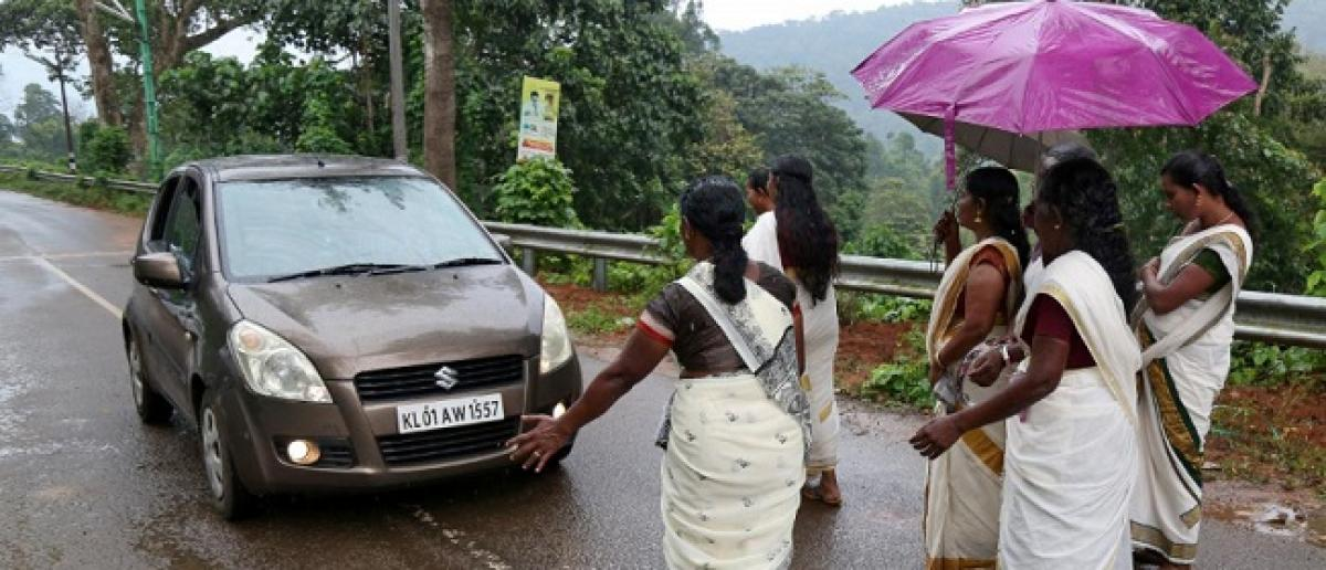 Tensions rise at Sabarimala temple over entry of menstrual-age women