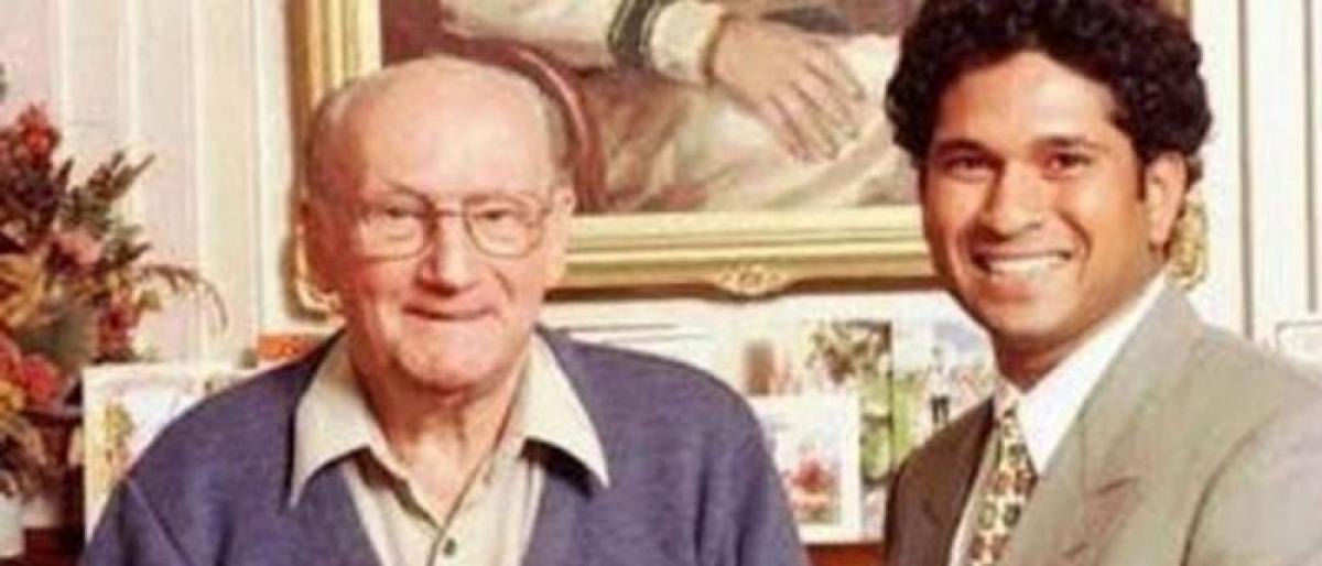 Visit to Pu Las house reminds Sachin Tendulkar of meeting with Sir Don Bradman