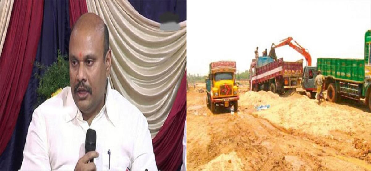 Government fixes prices for loading, transportation of sand