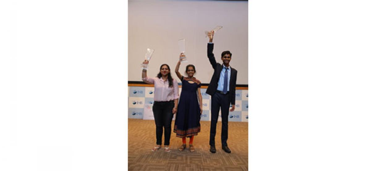 Pedda Sri Lakshmi Sravya wins Master Orator Championship