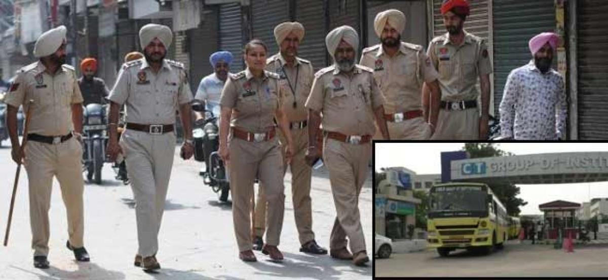 3 students arrested for links with Kashmir terror outfit in Punjab