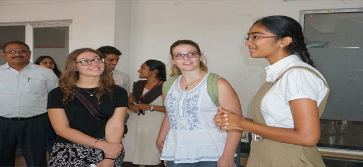 Boston varsity research team visits Vasireddy Venkatadri Institute of Technology (VVIT)