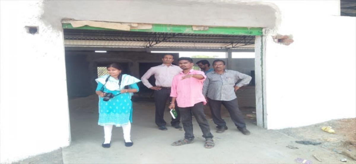 ASCI team visits Siddipet documents developmental works