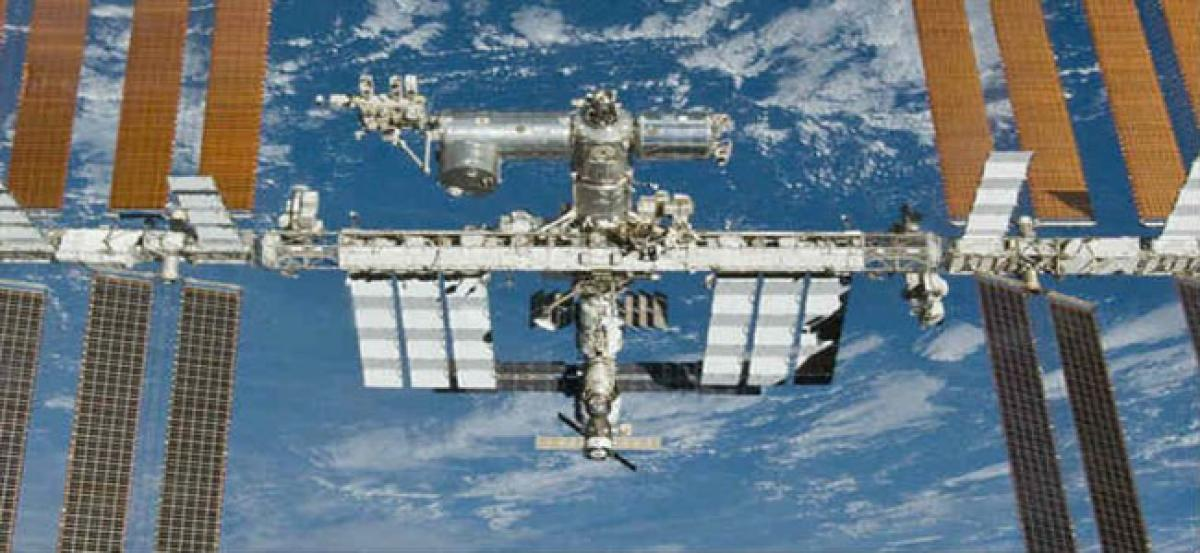 New Year celebrations on ISS for 16th time