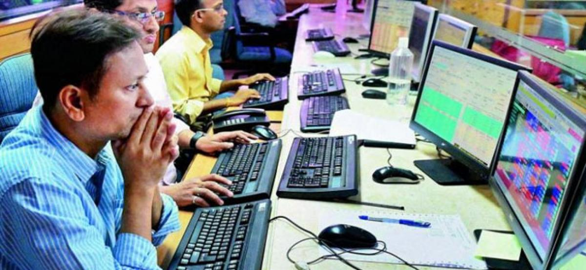 Sensex surges 400 pts ahead of RBI policy