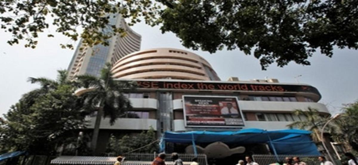 Sensex up by 225 pts, Nifty settling around 11,000