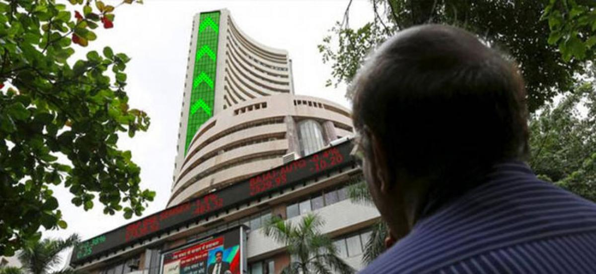 Sensex ends April with biggest monthly gain in over 2 years