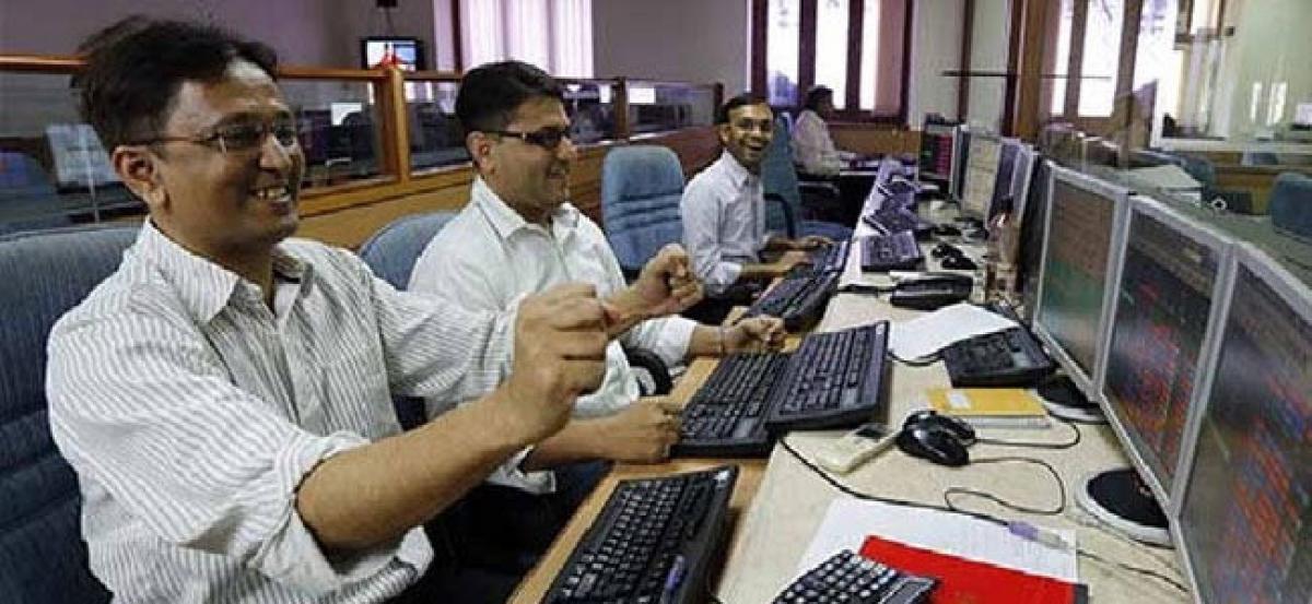 Sensex hits 35,000, Nifty Bank records new high
