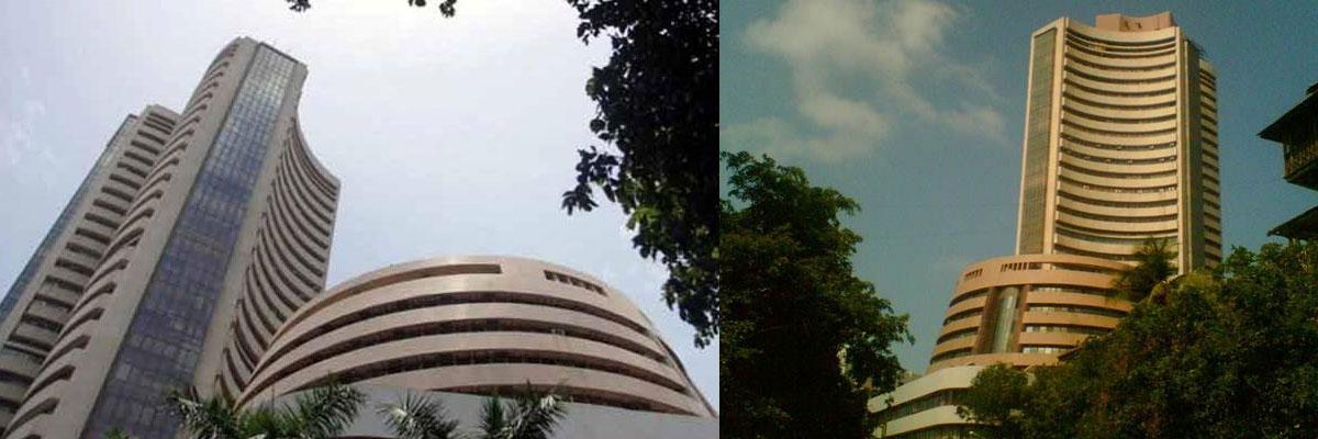 Sensex, Nifty open in red as financials drag